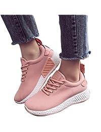 Kootk Mujeres Zapatos Deporte Gimnasio Corriendo Entrenadores Para Caminar Al Aire Libre Casual Zapatos Low-Top Verano Zapatillas Sneakers