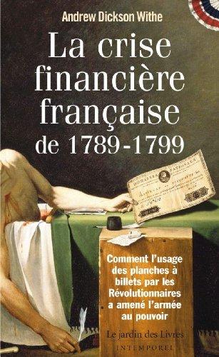 La crise financière française de 1789-...