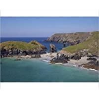 20x16 Print of Kynance Cove, Cornwall, England, United Kingdom, Europe (5928573)