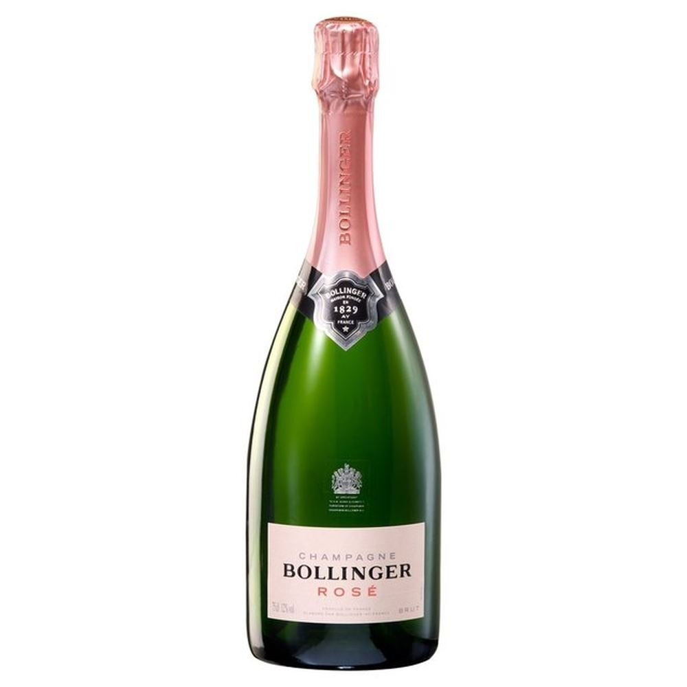 Bollinger Rose NV Champagne 75cl – (Pack of 6)