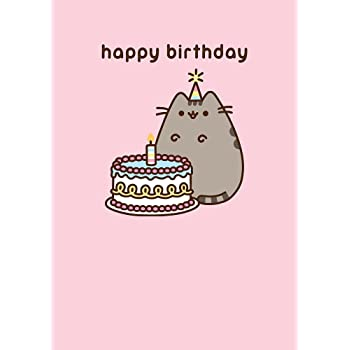 Pusheen The Cat Happy Birthday Greeting Card