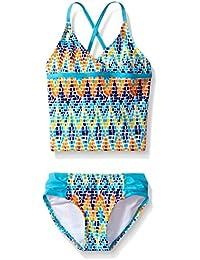 Kanu Surf Big Girls Candy Tankini Swimsuit