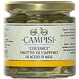 Campisi -Cucunci fruto de la alcaparra en vinagre de manzana - Italia- 230g