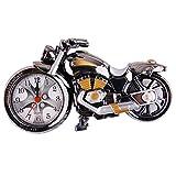 Motorrad Wecker Retro de Luxe, Creative Artistic Motorrad Modell von Desktop-Uhr für die Dekorationen von Regal Putzbox, einzigartig eye-catching Exquisite Sporting Wecker Motorrad-mit Kunststoff Ein