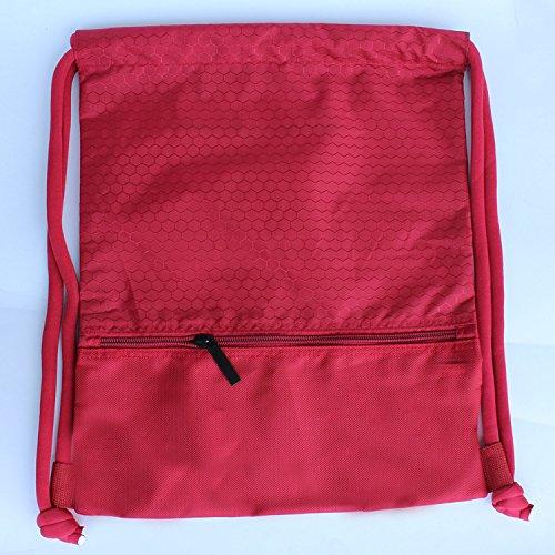 Mefly Outdoor Reisetasche Rucksack Männlichen und Weiblichen Sport Körper-gebäude Tasche Red tuba