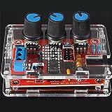 HALJIA XR2206 Funktionsgenerator Signalgenerator Sinus Dreieck Rechteck Welle 1HZ - 1MHZ Rot