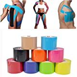 Generic Sky Bluee, 5cm : 5cm*5m Kinesio Taping Athletic Kinesiology Sport Taping Strapping Good Quty Football...