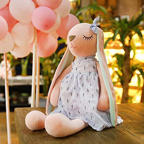 upupupup Plüschtiere Lange Hasenohren Puppe Nettes Baby Weicher Schlaf Peeling Baby Plüschtier Baby Baby @ 35Cm -