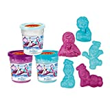 Craze 56197 - Magic Sand Disney Frozen Refill Can, 450 g Glitzersand mit Förmchen, sortiert
