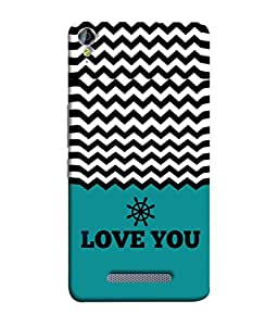 PrintVisa Designer Back Case Cover for Micromax Canvas Juice 3 Q392 (Love Is Life Together Couple Feeling Emotion Heart )