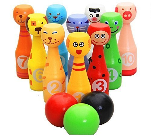 wooden-bowling-ball-set-toy-with-10-different-animals-pins-and-3-color-ball-for-kids-babies-by-bowli