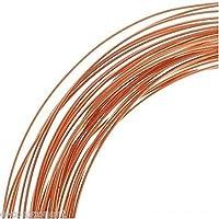 Hilo de cobre esmaltado para electrónica 0,80mm (1metro)