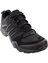 Adidas Terrex al aire libre X rápido Senderismo zapatos - Negro / gris oscuro / rojo de la potencia