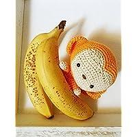Milly _ Scimmietta amigurumi. Regalo per bambini e neonati. Pupazzo da collezione handmade