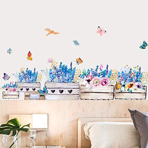 WUDHF Kinderzimmer Tapete Inkjet Wandaufkleber Pflanze Blume Wandaufkleber Heißer Hintergrund Wandmalerei Wohnkultur Zubehör - Inkjet-speicher