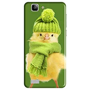 Mobo Monkey Designer Printed Back Case Cover for Vivo X3S (Cute :: Doll :: Bird :: Kawaii :: Chick)