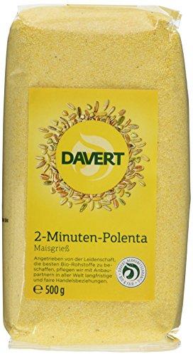 Davert Schnellkoch-Polenta, 4er Pack (4 x 500 g) - Bio