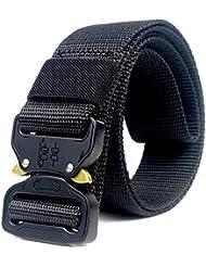 ZheTianmios Cinturón de Nylon de los Pantalones Vaqueros de los Hombres Only Belt 135cm