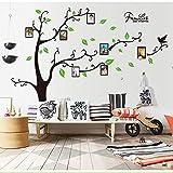 Alicemall PVC Wandtatoo Stammbaum Foto Rahmen Zitate Wandaufkleber Startseite Kunst Decals Wand Deko