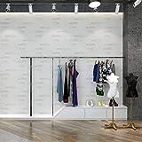 yhyxll Papier Peint Brique Blanche Brique Salon Magasin de vêtements Papier Peint...