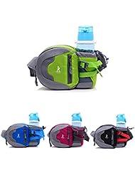 Bazaar Sac de taille Sport Cyclisme camping randonnée bouteille d'eau taille sac besace