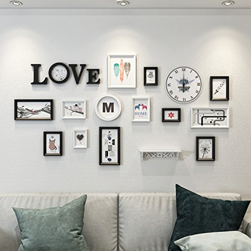 William 337 Foto-Wanddekoration, Fotorahmen, Wanddekoration, einfach, modern, für Wohnzimmer, C