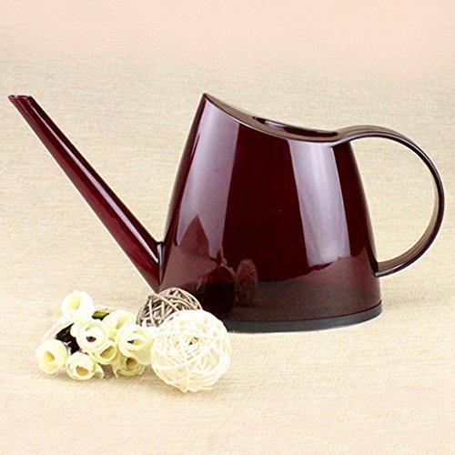 Wddwarmhome Les petites plantes en pot de maison de bureau en plastique de la bouilloire PP d'arrosage translucide de 1,4 L arrosant peuvent ( Couleur : Rouge )