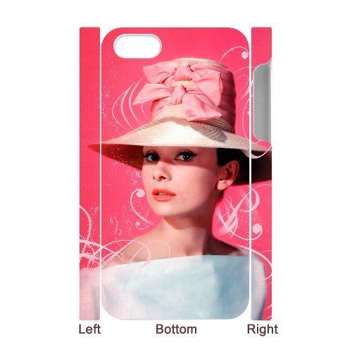 LP-LG Phone Case Of Audrey Hepburn For Iphone 5C [Pattern-6] Pattern-2