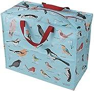dotcomgiftshop Riesen-Aufbewahrungsbeutel/-tüten mit Tiermotiven, plastik, Garden Birds, Jumbo