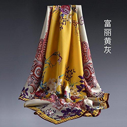 LLZHWSJ Silk/Écharpe/Châle/Écharpe/Femelle/Silk/Tout-Match