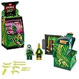 LEGO Ninjago Avatar di Lloyd Pod Sala Giochi con 2 Minifigure: Digi Lloyd con Arma di Controllo Principale e Avatar Lloyd con Mazza, 71716