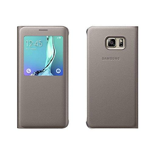 Samsung BT-EFCG928PFEGWW - Funda para Samsung Galaxy S6 Edge +, color amarillo
