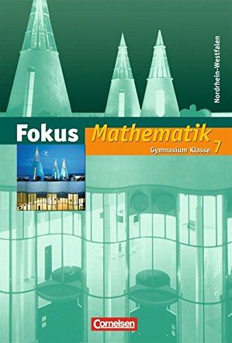 Fokus Mathematik - Nordrhein-Westfalen - Bisherige Ausgabe / 7. Schuljahr - Schülerbuch,