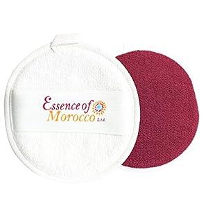 Marokkanische Kessa-Handschuh für Gesicht und Hals sowohl Gesichtsreiniger als auch Peeling Reinigung