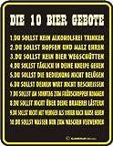 Schild:10 Bier Gebote