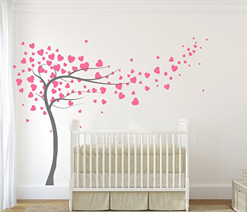 designdivil-adesivo-vinilico-dellalbero-dei-cuori-opaco-dark-grey-powder-pink-hearts-180-cm-largo-x-