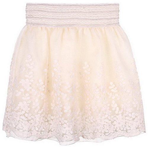 EOZY-Mini-Encaje-Burbuja-Princesa-Falda-Corto-Para-Mujer