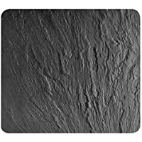 Wenko 2712984500Multi Placa de Pizarra para Cristal y cerámica, Tabla de Cortar, Vidrio Templado, Negro, 56x 50x 0,5cm