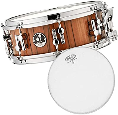 Sonor AS 16 1305 Ti SDW-T Artist Tineo Snare Drum + RMV Single Coated Fell 13