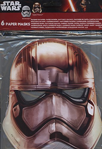 Preisvergleich Produktbild Star Wars Episode 7 Das Erwachen der Macht - 6 Masken in 2 Designs aus festem Karton