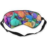 Colorful Shells 99% Eyeshade Blinders Sleeping Eye Patch Eye Mask Blindfold For Travel Insomnia Meditation preisvergleich bei billige-tabletten.eu