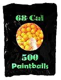 AB 500 Premium Paintball Pack - 68 Cal - Orange - Bester Preis für Amazon Prime Paintballs