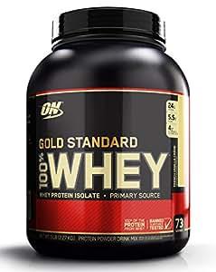 Optimum Nutrition Whey Gold Standard Protein, French Vanilla Cream, 1er Pack (1 x 2,273kg)