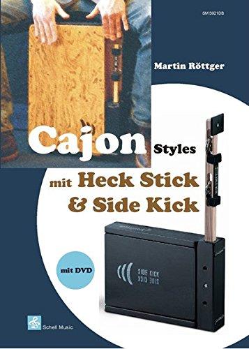 Cajon Styles mit Heck Stick & Side Kick: incl. DVD