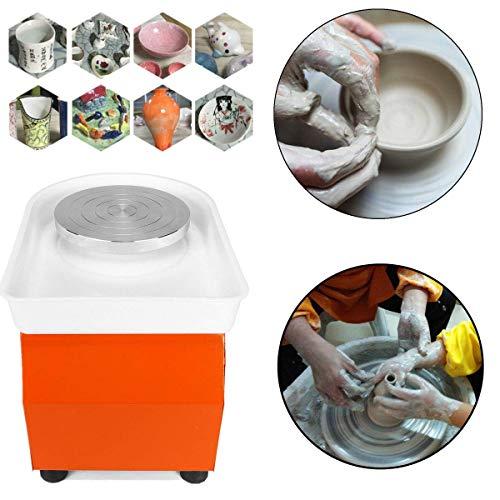 TOPQSC Keramik Rad Maschine 25CM 350W Ceramics Clay Machine Töpferscheibe Maschine DIY Keramik Werfen Arbeit Clay Shaping Tool Töpferei Maschine