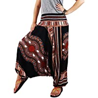 authenticasia- Dae Dashiki collezione 2 in 1 Pantaloni harem e (Mens Dashiki)