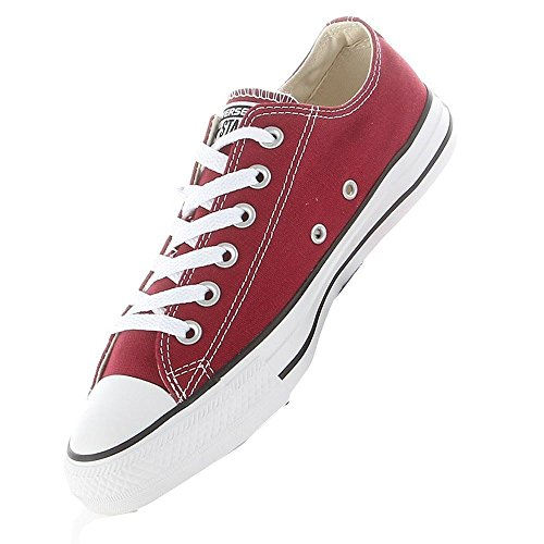Converse Chuck Taylor All Star Adulte Seasonal Ox 15762 Damen Sneaker Dunkelrot