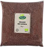 Organic Red Quinoa Grain 1kg by Hatton Hill Organic - Certified Organic