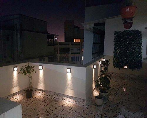RGB Luci Solari Esterno, Coquimbo Energia Solare LED Luce a Muro in ...