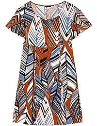 United Colors of Benetton - Pantalon - Femme Beige Beige pierre 34 W